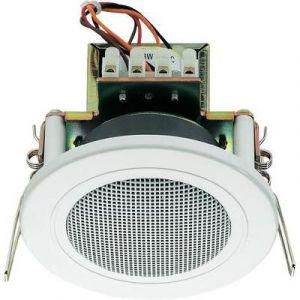 Monacor EDL-82/WS - Haut-parleur ELA encastrable 100 V