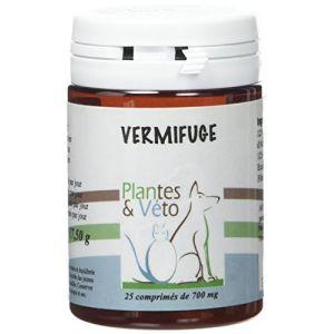 Plantes et veto Vermifuge pour chiens (25 comprimés)