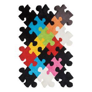 Kare Design Tapis Puzzle en laine (170 x 240 cm)