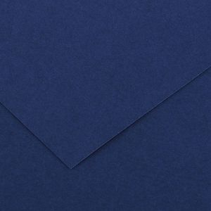 Canson 200040377 - Feuille Iris Vivaldi 50x65 240g/m², coloris outremer 24
