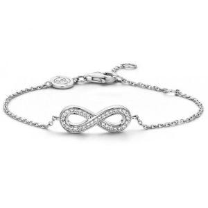 Ti sento 2823ZI - Bracelet Infini en argent et strass pour femme