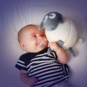 Pabobo Peluche Ewan le Mouton rêveur