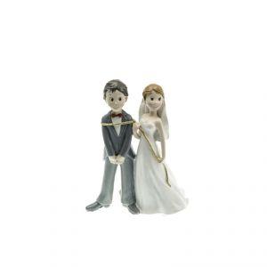 Chaks 80168 - Figurine en résine Mariés Lasso