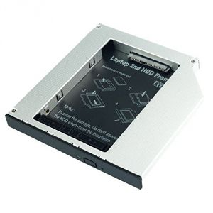 Lindy 20935 - Adaptateur HDD/SSD SATA 2,5 vers Slim CD/DVD/BD 9,5mm