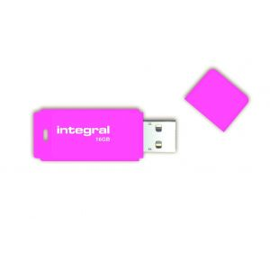 Integral INFD16GBNEON - Clé USB 2.0 Neon 16 Go