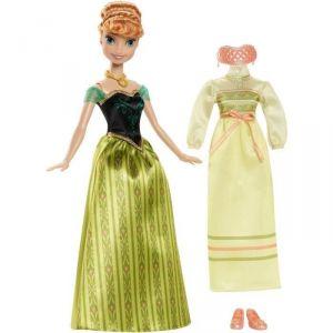 Mattel Coffret Anna et tenue La Reine Des Neiges