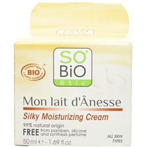 So'Bio Étic Crème soyeuse Lait d'ânesse 50ml