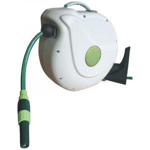 Cap Vert Enrouleur automatique mural - Longueur enrouleur 230 mm - Câble 30 m
