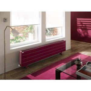 Acova TCLXD-150-150 - Radiateur électrique 4 éléments Fassane Premium plinthe sans régulation 1500 Watts