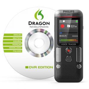 Philips DVT2700 - Dictaphone numérique + Dragon Naturally Speaking DVR Editio