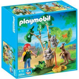 Playmobil 4854 - Arbre à koalas et kangourous