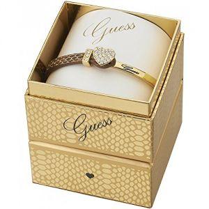 Guess UBS91310 - Bracelet en cuir et métal doré pour femme