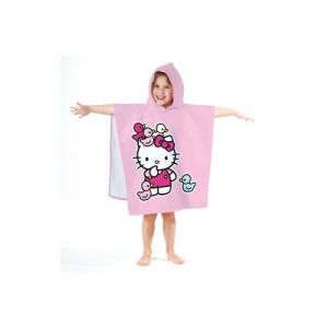 Cape de bain Hello Kitty et canards (60 x 120 cm)