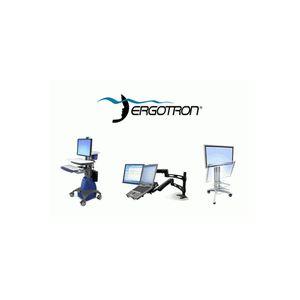 """Ergotron WorkFit-A II Dual - Support pour écrans jusqu'à 22"""""""
