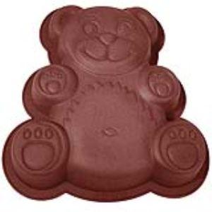 Lékué Moule à gâteau ours en silicone