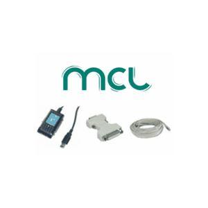 MCL Samar FCC6ABMHF-1M - Cordon de brassage RJ45 cat.6A F/UTP LSZH 1m