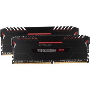 Corsair CMU16GX4M2C3200C16R - Barrette mémoire Vengeance LED Series 16 Go (2x 8 Go) DDR4 3200 MHz CL16