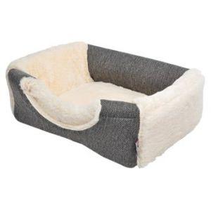 Ami confort Panier effet laine 2 en 1 40 x 30 x 30 cm