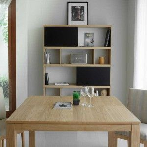 Swithome Soft - Table extensible en chêne massif