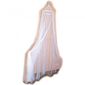Bieco Voile de lit moustiquaire 240 cm