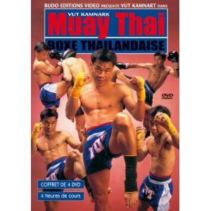 Coffret Muay Thai Boxe Thaïlandaise - Volumes 1 à 4