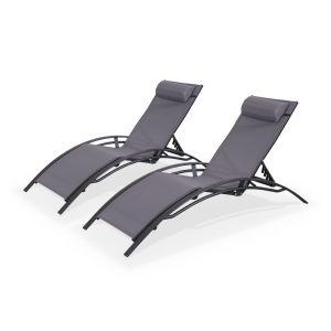 bain de soleil gris anthracite comparer 161 offres. Black Bedroom Furniture Sets. Home Design Ideas