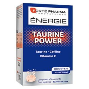Forté pharma Energie taurine power - 30 comprimés effervescents