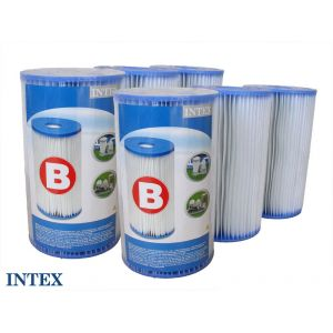 "Intex 290056 - 6 cartouches de filtration ""B"""