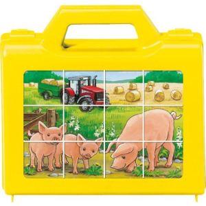 Ravensburger Puzzle 12 cubes : Animaux de la ferme