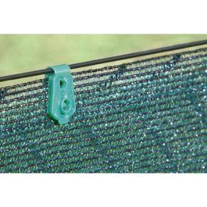 Intermas Gardening 147120 - Lot de 20 clips de fixation Fixatex pour brise vue tissé