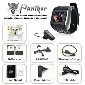 High-Tech Place Panther 3 - Montre téléphone portable écran tactile + clavier