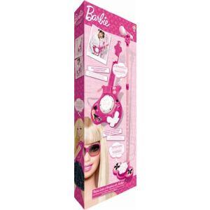 IMC Toys Guitare électrique + micro Barbie