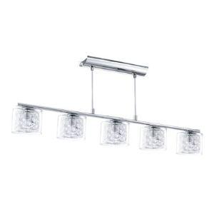 Eglo Suspension multiple Pianella en verre et métal (92 cm)