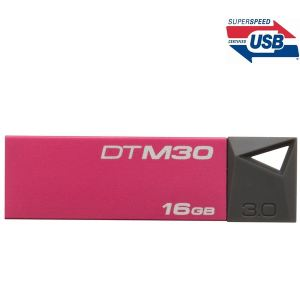 Kingston DTM30/16GB - Clé USB 3.0 DataTraveler Mini 16 Go