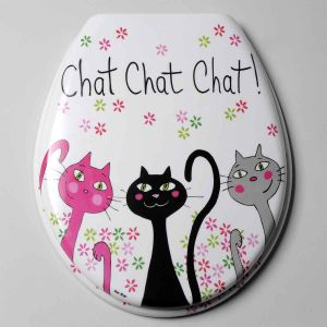 Fox Trot Abattant WC Chat