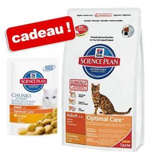 Hill's Feline Adult Light Croquettes Poulet/riz 5 kg