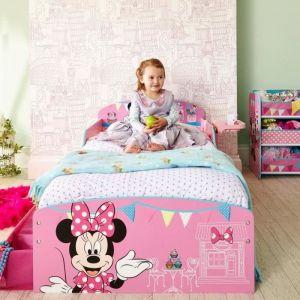 Worlds Apart Lit Minnie Mouse avec rangement et étagère (140 x 70 cm)
