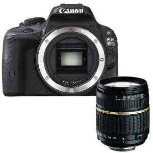 Canon EOS 100D (avec objectif Tamron 18-200mm)