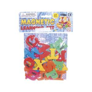 Partner jouet Lettres et chiffres magnétiques 41 pièces