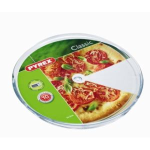 Pyrex 3059023 - Plat à pizza en verre (34,5 cm)