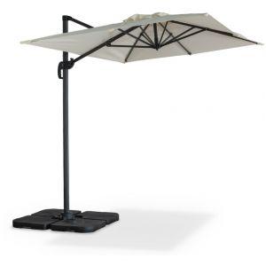 parasol rectangulaire ecru comparer 26 offres. Black Bedroom Furniture Sets. Home Design Ideas