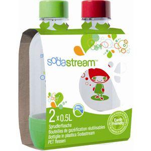 Sodastream Pack de 2 bouteilles de 0.5L pour machine à sodas
