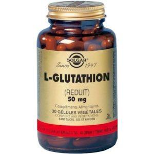 Solgar L-Glutathion 50 mg - 30 Gélules