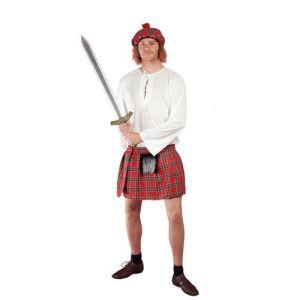PtitC Kilt écossais homme