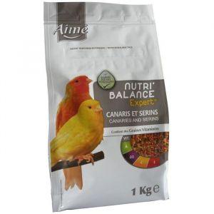 Aimé Nutri'balance Expert - Mélange de graines pour canaris et serins 1 kg