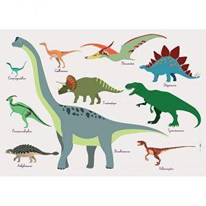 Dinosaures - Set de table pour enfant (31 x 43 cm)