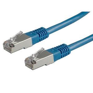 Value 21.99.1364 - Cordon réseau RJ45 S/FTP Cat.6 5 m
