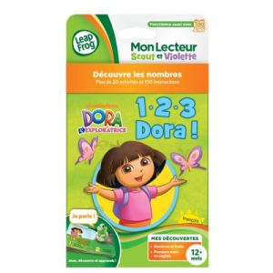 Leapfrog Livre Tag Junior : 1-2-3 Dora