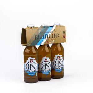 Brasseurs savoyards Bière BS Blanche bio 3x33cl