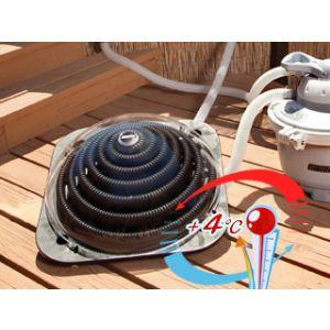 Chauffage solaire pour piscine hors sol comparer 22 offres for Rechauffeur petite piscine